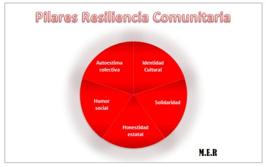Pilares resiliencia comunitaria