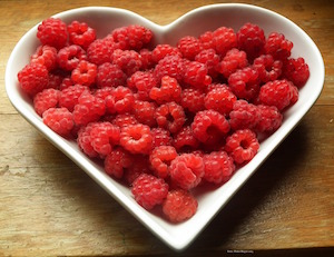 Raspberries_heart